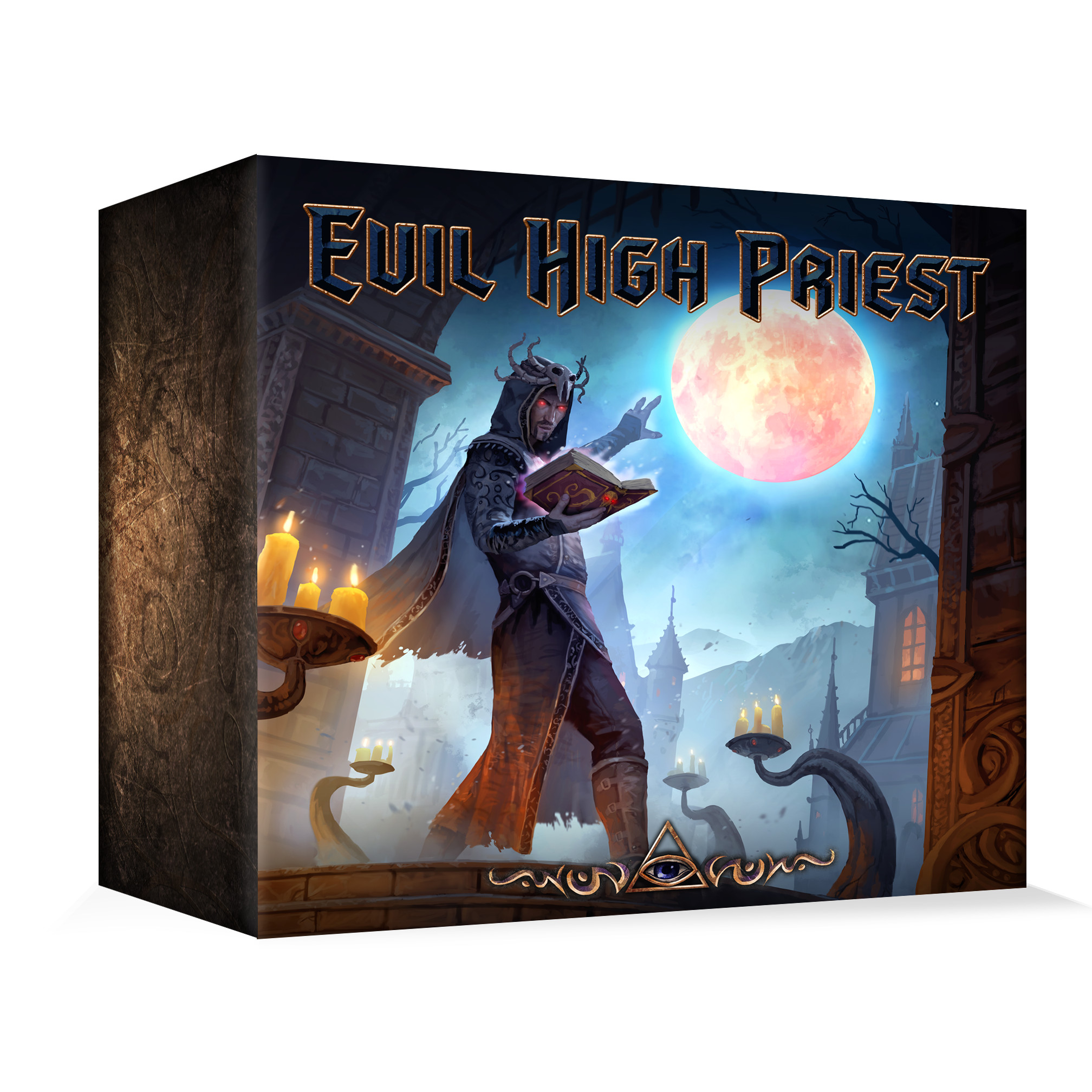 Cover vom Brettspiel Evil High Priest